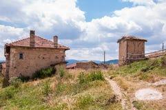 村庄房子 免版税图库摄影