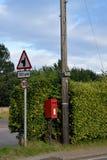 村庄标志 库存照片
