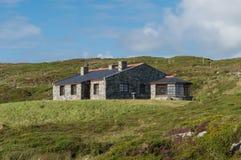 村庄爱尔兰石头 库存照片