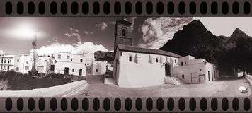 村庄白色 免版税库存图片