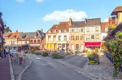 村庄的正方形 免版税库存照片