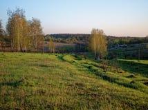村庄的边缘 免版税图库摄影