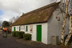 村庄盖了传统 凯利 爱尔兰 库存照片