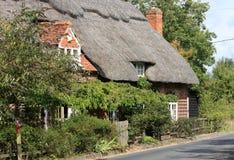 村庄盖了 免版税库存照片