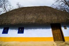 村庄盖了 免版税库存图片