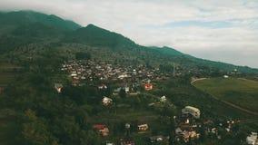 村庄空中英尺长度在三宝垄 股票视频