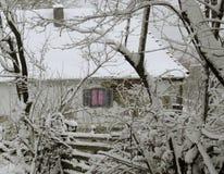 村庄窗口 库存照片
