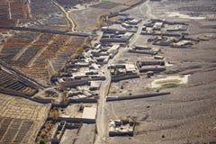 村庄群在坎大哈,阿富汗 免版税库存照片