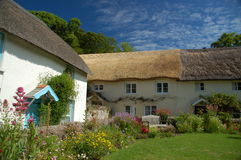 村庄英国传统 库存图片