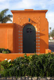 村庄西班牙语样式 库存照片