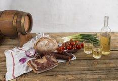 村庄食物 图库摄影