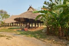 村庄,古老Cityf曼谷 免版税库存照片