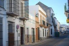 村庄类型西班牙语 图库摄影
