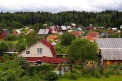 村庄 免版税库存图片
