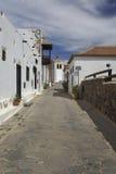 村庄Betancourt在费埃特文图拉岛,加那利群岛 免版税库存图片