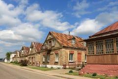 村庄Golshany在白俄罗斯 库存照片