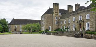 杜伦大学,英国 库存图片