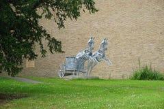杜伦大学,英国 免版税图库摄影