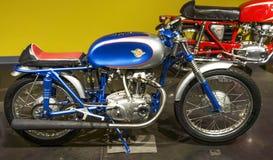 1959年杜卡迪125惯例3 motercycle 免版税库存照片