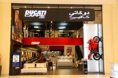 杜卡迪Caffe迪拜 免版税库存照片