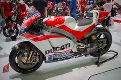 杜卡迪Desmosedici GP超级摩托车 库存图片