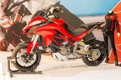 杜卡迪Multistrada 1200 - 2015年摩托车 免版税图库摄影
