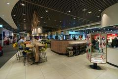 杜塞尔多夫机场 库存照片