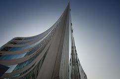 杜塞尔多夫建筑学 免版税库存照片