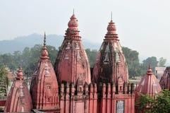 杜尔加寺庙。 免版税库存图片