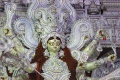 杜尔加Puja寺庙 免版税库存图片