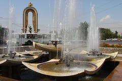 杜尚别塔吉克斯坦 免版税库存图片