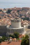 杜布罗夫尼克市堡垒 库存照片