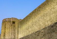 杜布罗夫尼克市墙壁 免版税库存照片