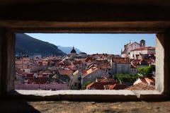 杜布罗夫尼克市老城镇 免版税库存图片