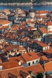 杜布罗夫尼克市,克罗地亚 库存图片