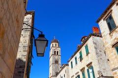 杜布罗夫尼克市 克罗地亚 老城市和堡垒 库存图片