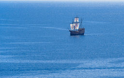 杜布罗夫尼克galleon船 免版税库存照片