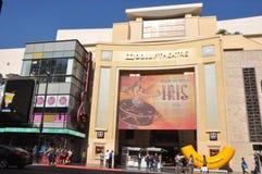 杜比剧院(柯达剧院)在加利福尼亚 免版税库存图片