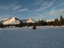 杜米托尔国家公园冬天全景 库存图片