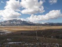 杜米托尔国家公园山在秋天 库存图片