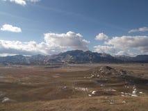 杜米托尔国家公园山在秋天 免版税库存图片
