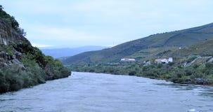 杜罗河河和风景 库存照片