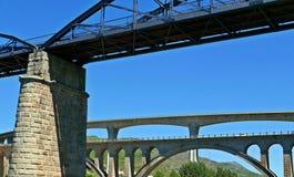 杜罗河河Briges  库存照片