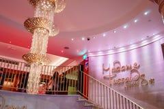 杜莎夫人蜡象馆博物馆在伦敦 库存图片