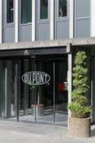 杜邦办公室在奥尔胡斯,丹麦 库存图片