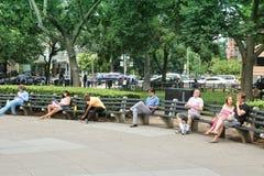 杜邦广场 免版税图库摄影