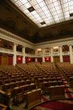 杜马的历史的会议室在Tauride宫殿在圣彼德堡,俄罗斯 图库摄影