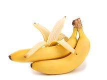 束与开放一个的香蕉。 库存图片