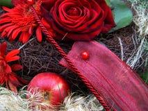 束圣诞节 库存照片