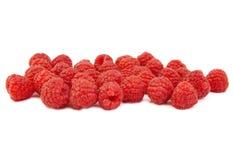 束在白色背景的莓 免版税库存照片
